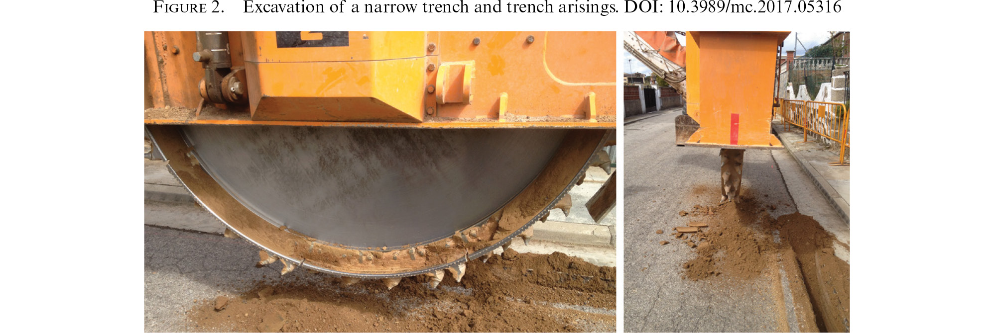 Eco-trench: a novel trench solution based on reusing excavated