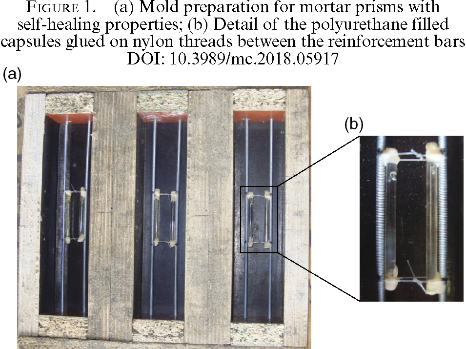 Efficiency of self-healing cementitious materials with